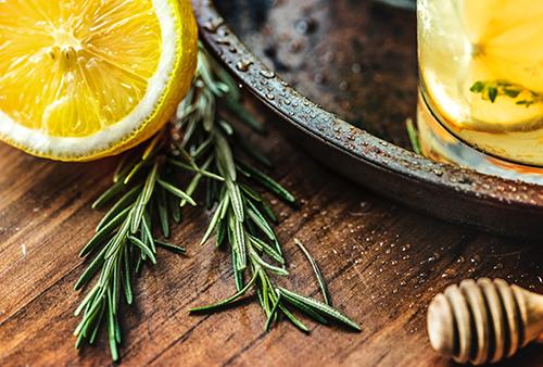 Thym, citron et miel