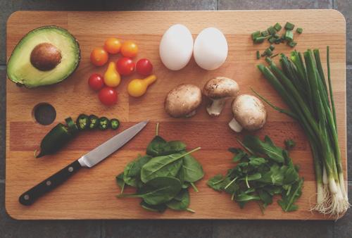 planches avec légumes d'hiver