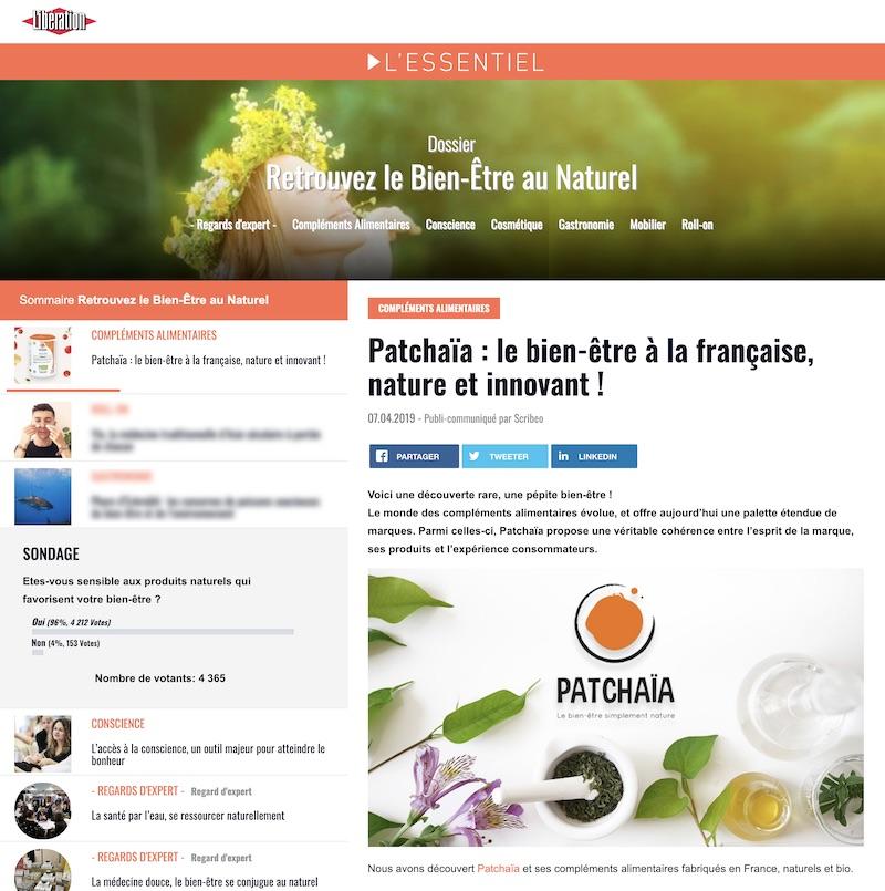 Patchaïa : le bien-être à la française, nature et innovant