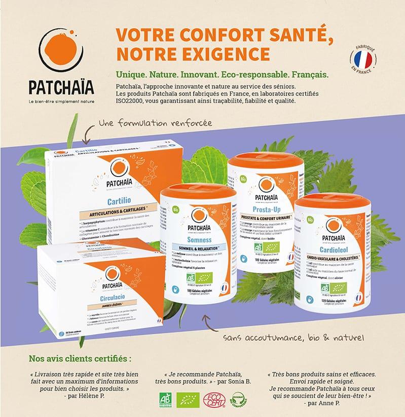 Patchaïa dans Tempo Santé n°11