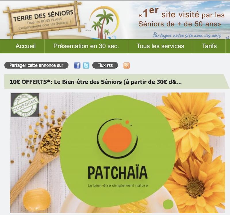 Patchaïa : Le Bien-être des Séniors